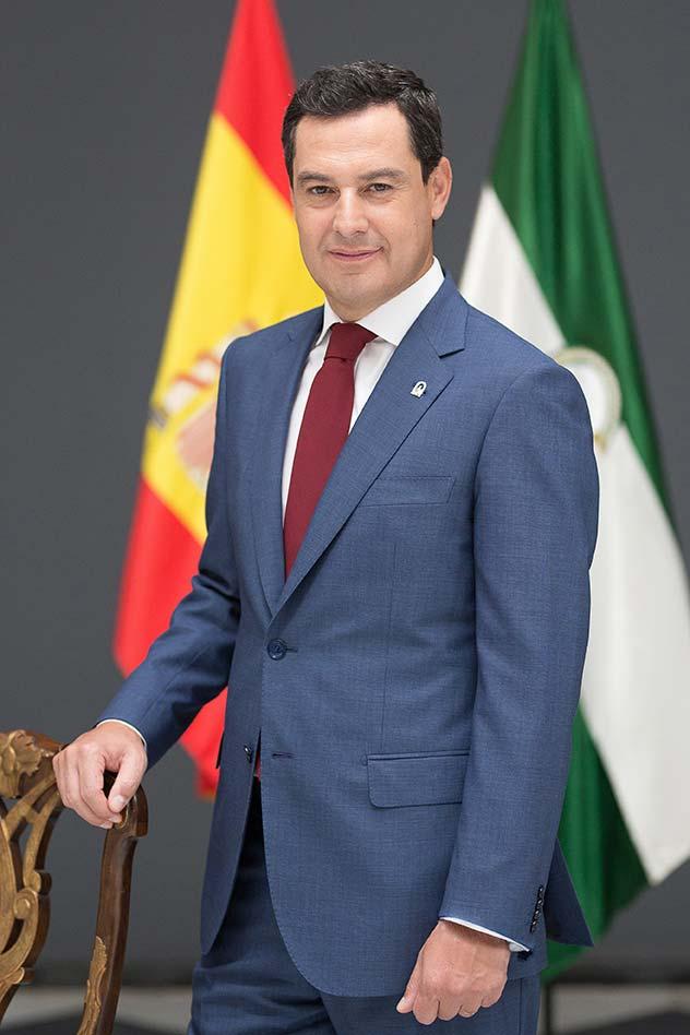 Juanma Moreno Presidente Junta de Andalucia